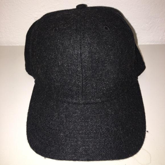 fb1d845ea Topman Gray Wool Baseball Cap